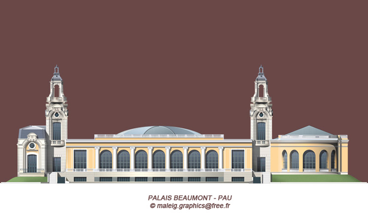 DMG - Palais Beaumont Pau