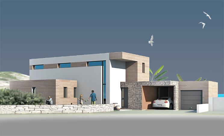 dmg maison contemporaine biarritz - Maison Moderne Biarritz